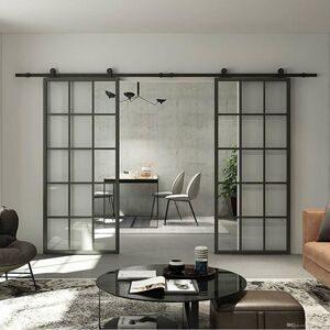 new-interior-black-aluminum-framed-french