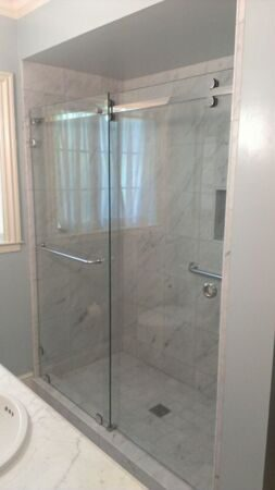 CRL-Serenity-Heavy-Glass-Bypass-Sliding-Shower