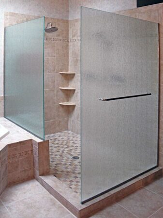Frameless-Shower-Walls-with-Towel-Bar